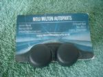 A PAIR OF GENUINE RENAULT CLIO MK3  2006-2010 FRONT WINDOW WINDSCREEN WIPER ARM FIXINGNUT COVER CAPS